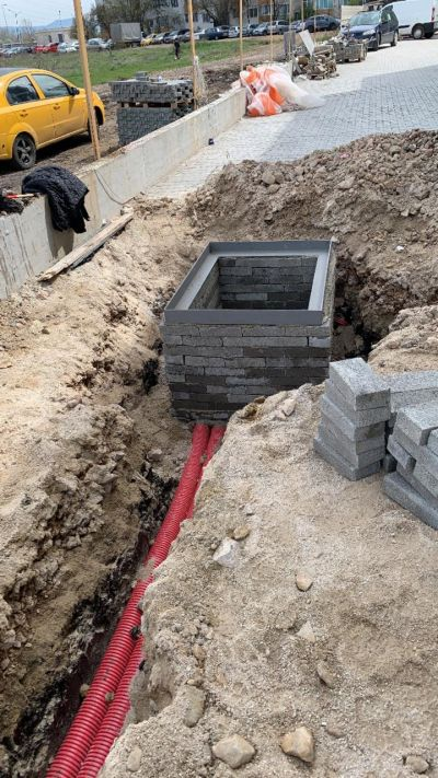 Зидане на шахти 2